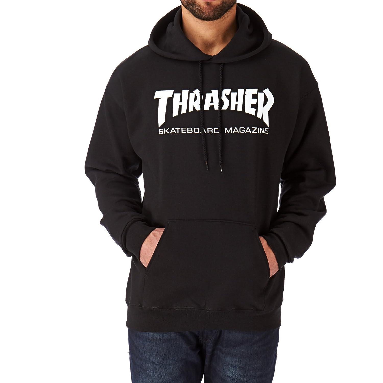 2ac07cfa7ac1 Amazon.com  Thrasher Skate Mag Hood Pullover Hoody  Clothing