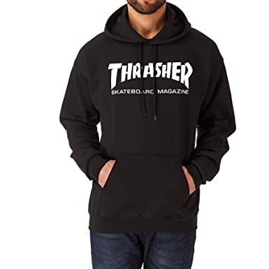 915b4dca676d Amazon.com: Thrasher Skate Mag Hood Pullover Hoody: Clothing