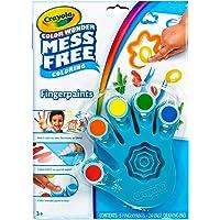 Crayola, Color Wonder Mess-Free FingerPaints y Papel, Herramientas de Arte Pintura, Papel, Ideal para Viajes