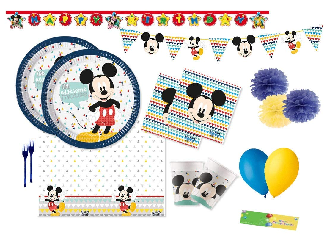 Creative Converdeing Kit n 64 Coordinato Festa Compleanno Topolino Awesome Mickey Mouse