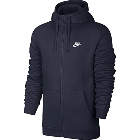 c73493ccf1 Amazon.com  NIKE Sportswear Men s Full Zip Club Hoodie  Sports ...