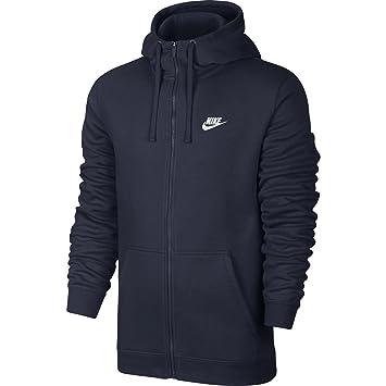 Amazon.com  NIKE Sportswear Men s Full Zip Club Hoodie  Sports   Outdoors 1139a5cde