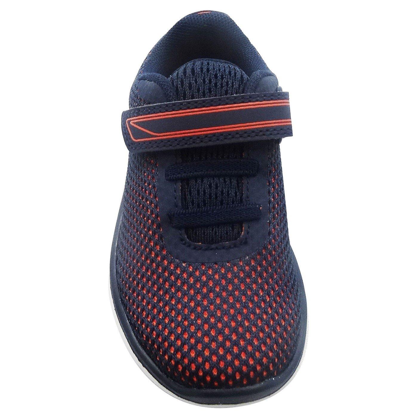 Orange Zapatillas ni/ño T7 Navy Blue Cat /& Jack Toddler Boys Mick Performance Athletic Mesh Shoes