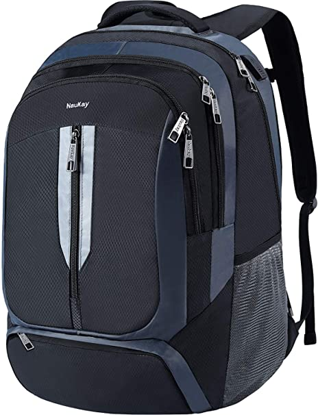 537d979fa8 17 inch Laptop Backpack,Extra Large Business Travel Backpacks with USB  Charging Port for Men