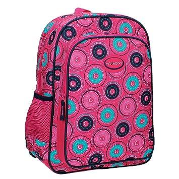 Movom 5292351 Circles Mochila Escolar, 15.6 litros, Color Rosa: Amazon.es: Equipaje