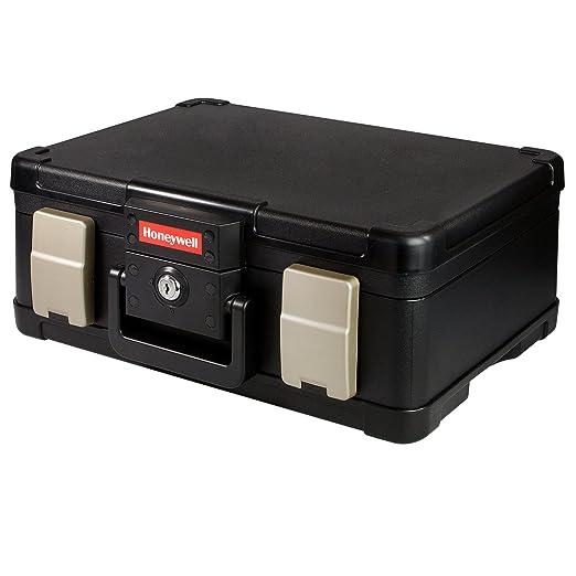 5 opinioni per HMF- Valigia portadocumenti/portasoldi ignifugo, impermeabile, 40,7 x 32,0 x
