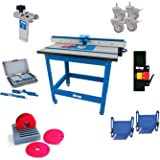 Kreg precision router table insert plate w level loc rings kreg prs1045 router table system with caster switch bars 5 level greentooth Choice Image