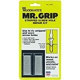 Woodmate 2498 Mr. Grip Screw Hole Repair Kit,Steel,Pack of 1