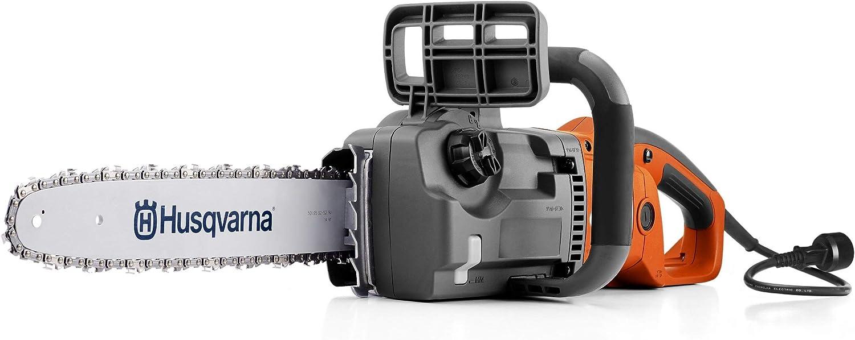 "Husqvarna 967256101 16"" Corded Electric Chainsaw, 414EL, Orange"