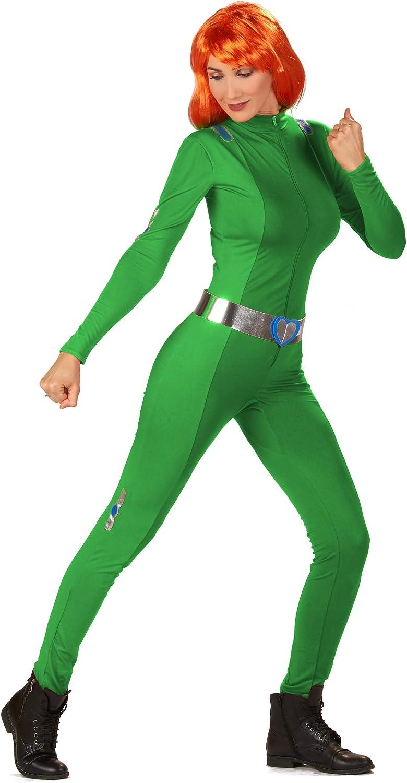 Vegaoo - Disfraz espía Verde Mujer -: Amazon.es: Juguetes y juegos