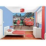 Walltastic Paper Walltastic Disney Cars Mural, Pack of 1