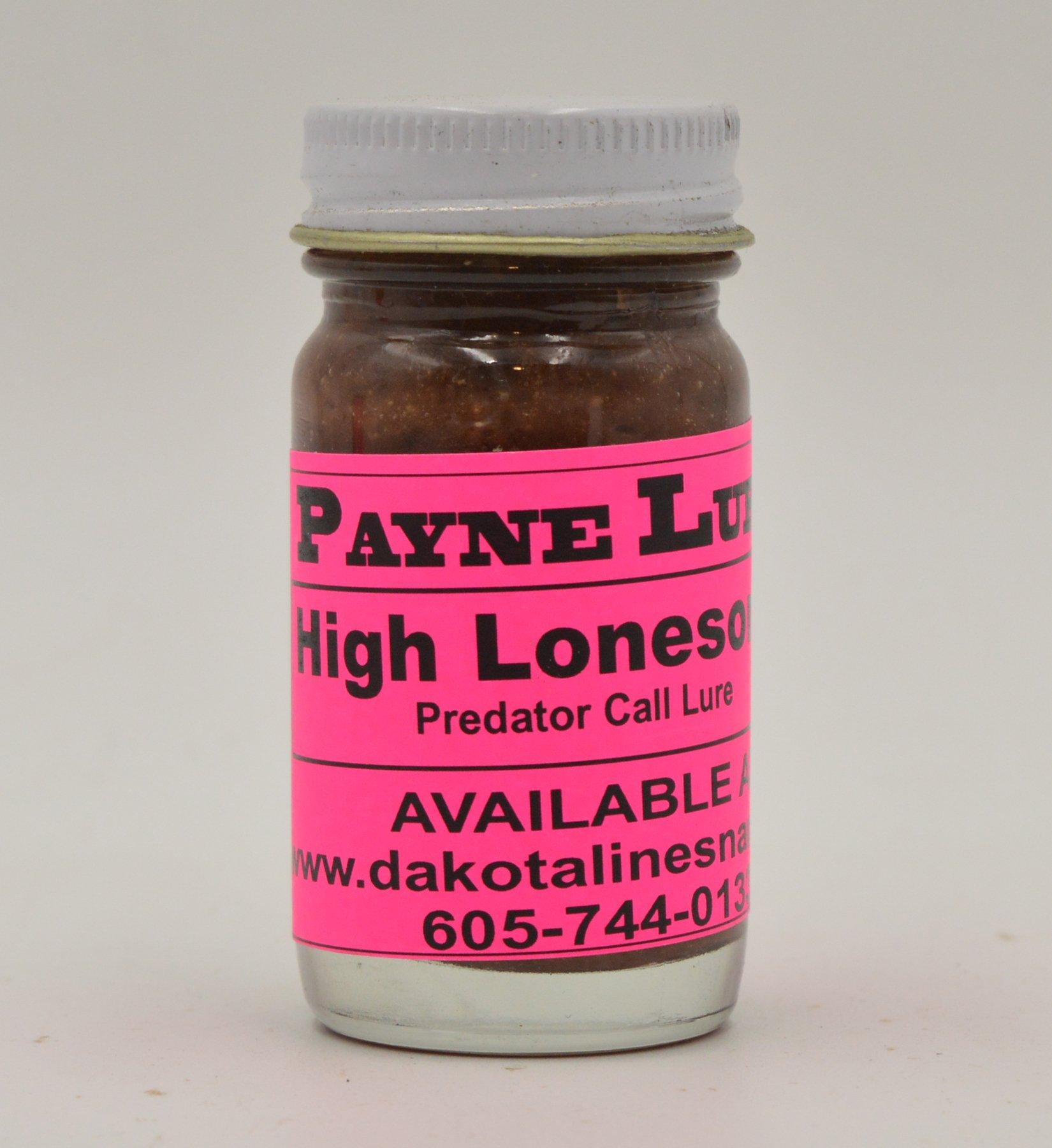 1 - 1 oz. Payne HIGH LONESOME Predator Call Lure