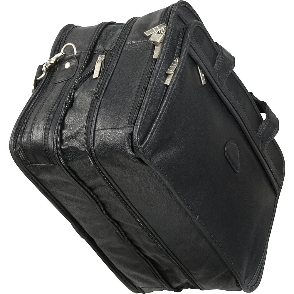 AmeriLeather Leather Expandable Laptop Case
