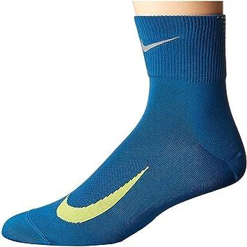 reunirse en caso cocina  NIKE - Calcetines de Running Unisex Elite Lightweight Quarter: Amazon.es:  Deportes y aire libre