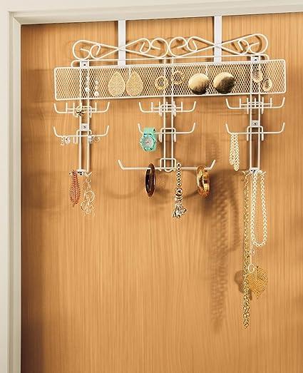 Amazoncom Generic New Over the Door Jewelry Valet Storage