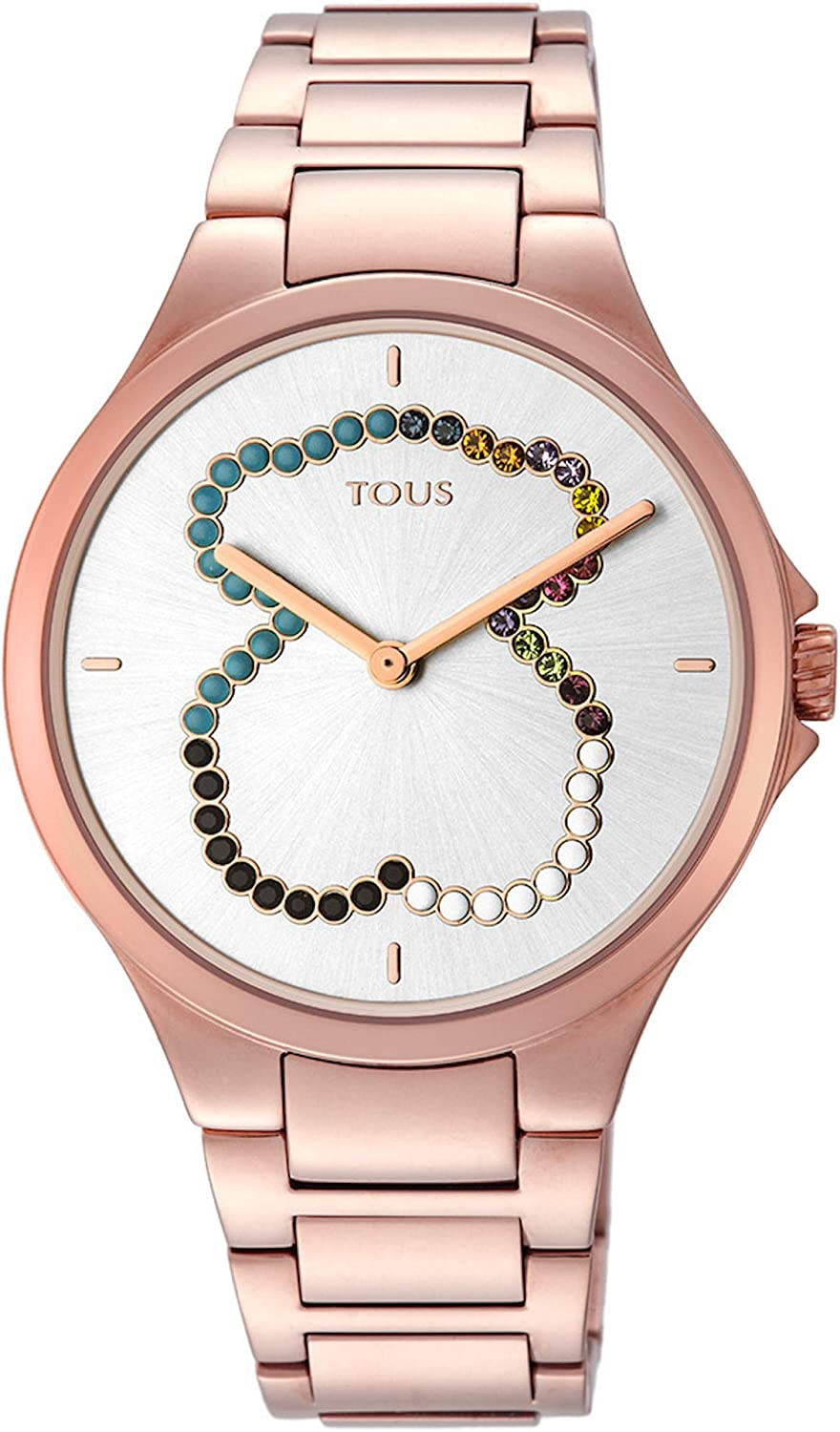 Tous Reloj Motion Straight SS ESF Oso Cristales