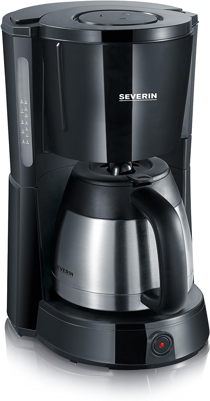 Severin KA 4131 - Cafetera con jarra termo de acero inoxidable ...