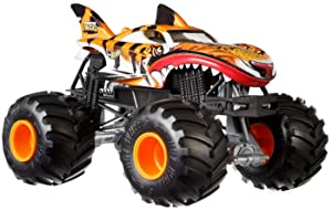 Hot Wheels Monster Trucks Shark Wreak Tiger Shark Vehicle