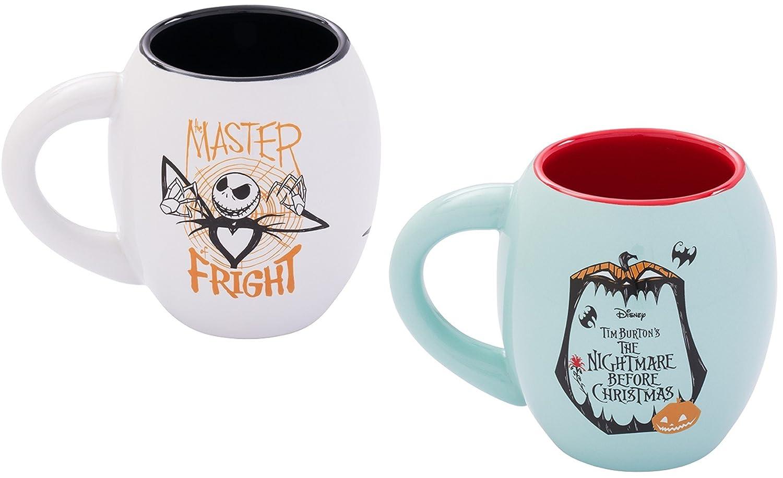 Amazon.com | The Nightmare Before Christmas Jack and Sally 18 oz ...