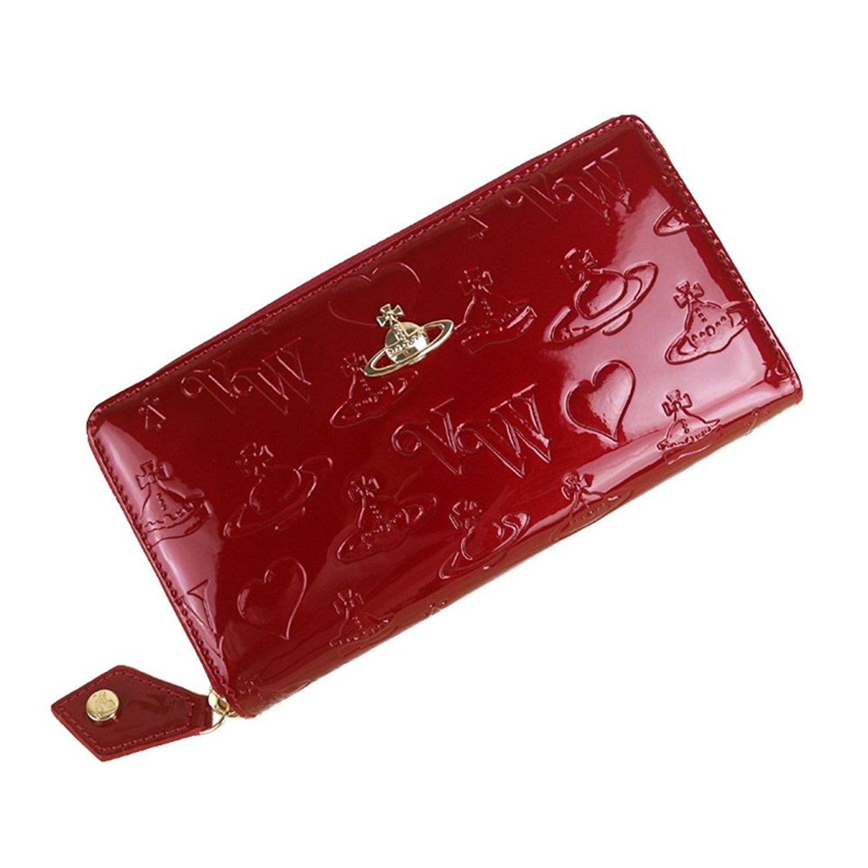 Vivienne Westwood ヴィヴィアンウエストウッド財布 長財布 55310 BLACK / RED/BLUE[並行輸入品] B079L6JRM8 レッド レッド