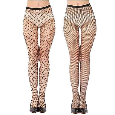 e37c4da4b027b Bellofox New Fashion Micro Macro Fishnet Leggings Combo For Girls And Women  (Set of 2