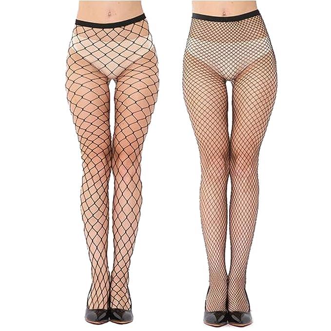 d92961904c8 Bellofox New Fashion Micro Macro Fishnet Leggings Combo For Girls And Women  (Set of 2