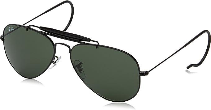 Ray-Ban Mod. 3030 Sole Gafas de Sol, L9500, 58 Unisex^Hombre^Mujer: Amazon.es: Ropa y accesorios