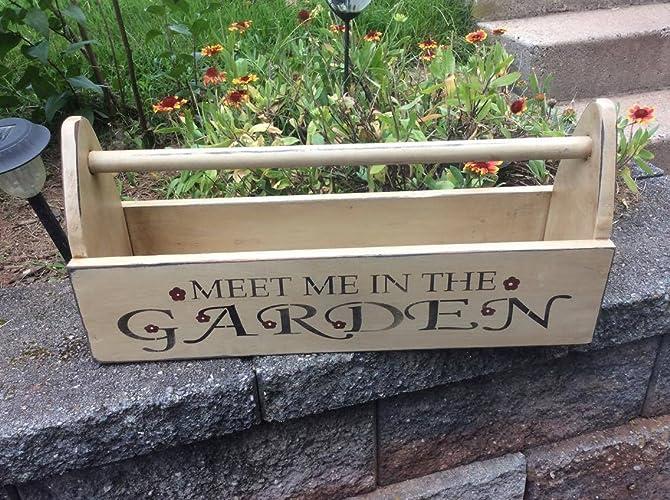Amazon.com: Hand Made Garden Tool Box, Decorative Box: Handmade