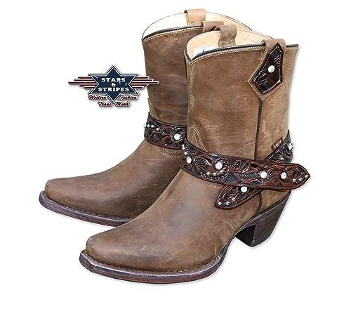 Botines marrón WBL de 26 Western Boot Piel Country/Western, Color ...