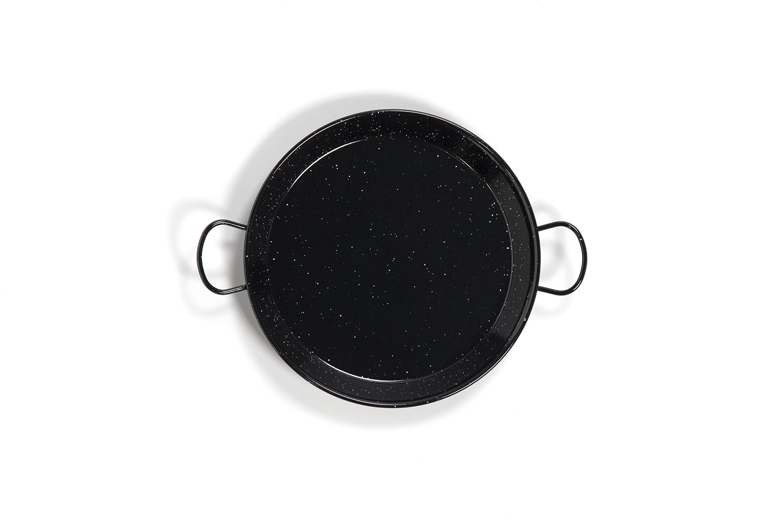 Polished Enamelled Valencian paella pan 20Inch / 50cm /13 Servings