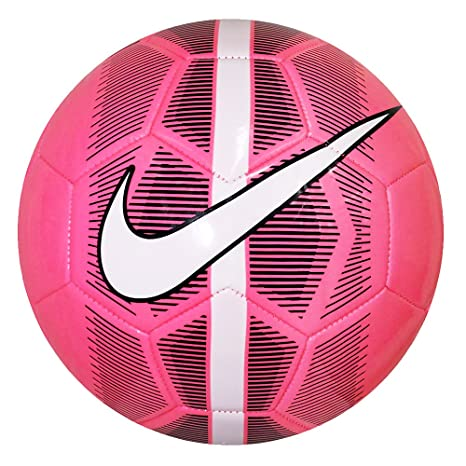 55f98011599 Nike Mercurial Fade Pink White Black Football- Size 5  Amazon.in ...