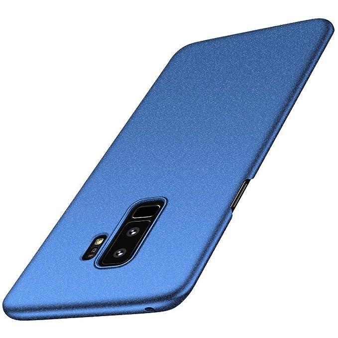 Beryerbi Funda Compatible para Galaxy S9 Plus,Galaxy S9 Carcasa Ultra-Delgado Ligera PC Plástico Duro Cover Suave Mate Sedoso Anti-rasguños Estuche ...