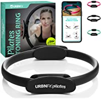 URBNFit Pilates Ring - Body Toning Pilates Magic Circle and Resistance Exercise Fitness Ring - Exercise Equipment for…