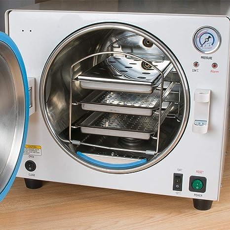 Amazon.com: ZZLINK 900 W 18 L Autoclave vapor para máquina ...