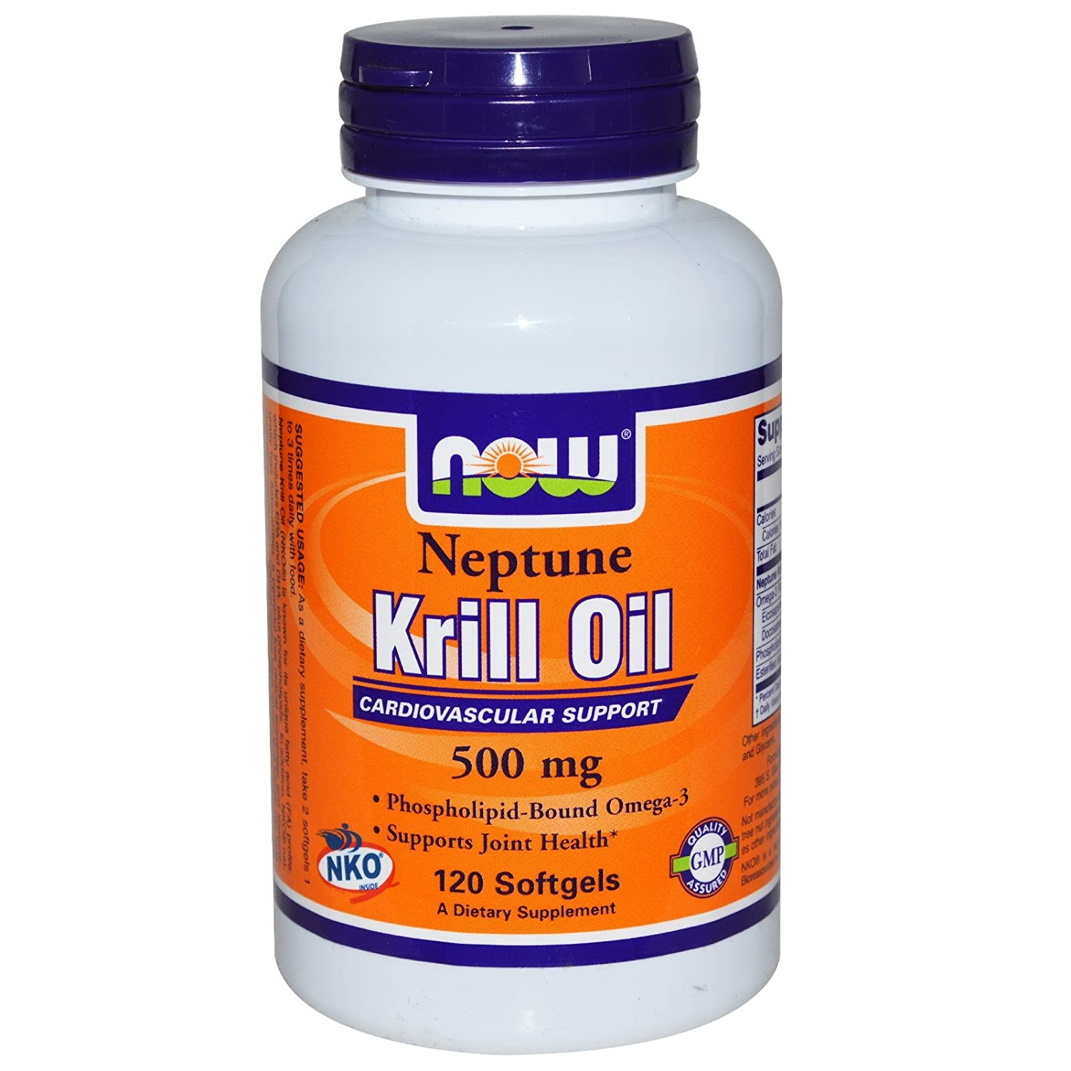 Now Foods Neptune Krill Softgels Image 1