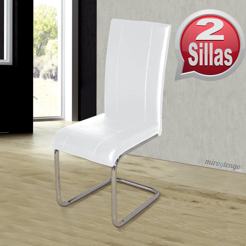 Sillas blancas modernas silla moderna modelo with sillas for Sillas elegantes modernas
