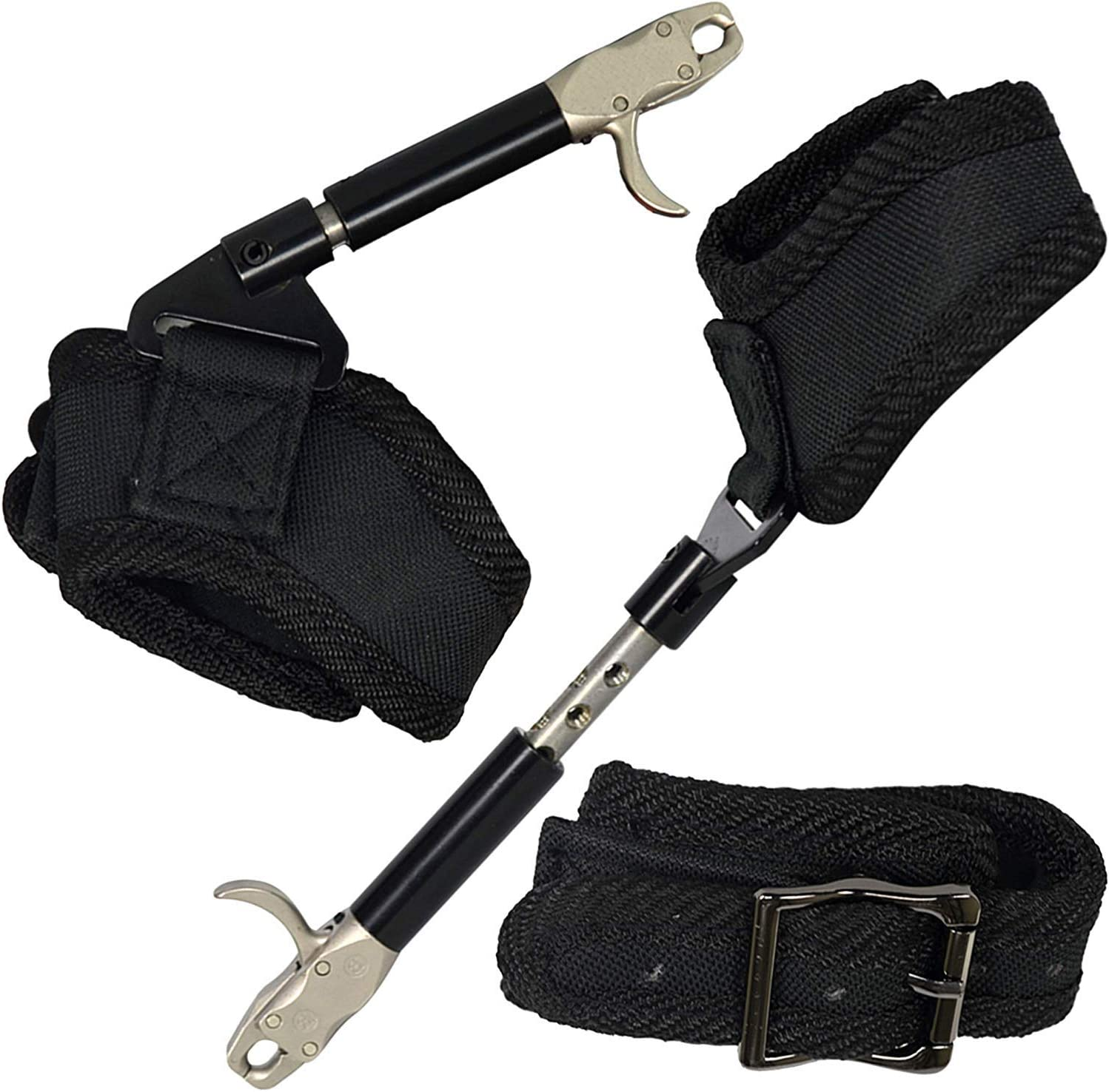 Details about  /Adjustable Archery Caliper Compound Bow Release Buckle Wrist Strap Hook /& Loop