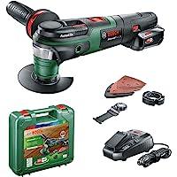 Bosch sladdlöst multiverktyg AdvancedMulti 18 (1 batteri, 18 V-system, i väska)