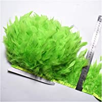 Wholesale 10Meters/Lot Turkey Feather Fringe Trim 4-6inch Marabou Feathers Trimming Skirt Dress Trims Ribbon Feathers…
