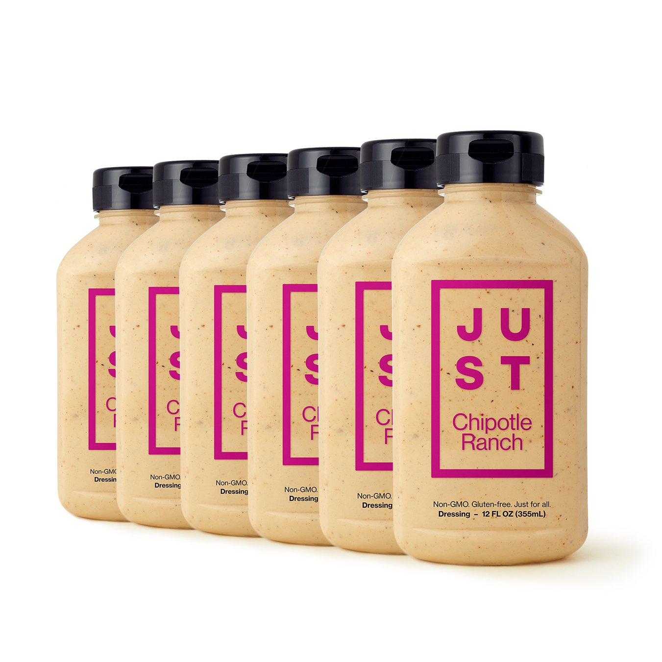 Just Chipotle Ranch, Non-GMO, 12oz (Pack of 6)