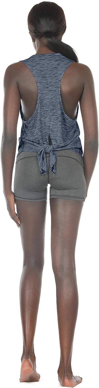 icyzone Sueltas y Ocio Camiseta sin Mangas de Deportiva Yoga de Tirantes para Mujer