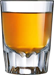 Luminarc Barcraft Fluted Shot Glass 6-Piece Set, Set of 6, Clear