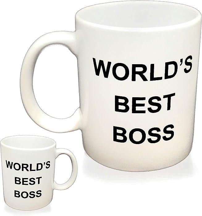 Top 10  Boss Ever Mug The Office