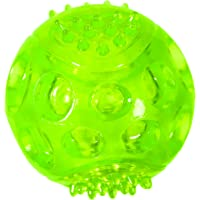 """Chase 'n Chomp Durable TRP LED Light Up Fetch Ball Dog Toy, 3"""""""