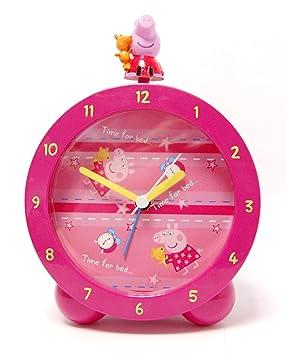 Zeon (Watches) Peppa Pig 17001 - Despertador con 3D Figura, 11x6x16 cm: Amazon.es: Hogar