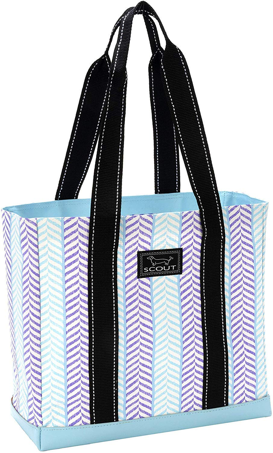 SCOUT Mini Deano Tote Bag, Small Lightweight Utility Tote Bag with Interior Zipper Pocket and Burst-Proof Bottom (Multiple Patterns Available) by SCOUT