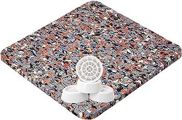 Antirutschmatte Unterlage für Waschmaschiene Antivibrationsmatte als Pad Bad