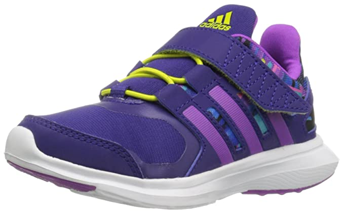 33ae3d6863 adidas Performance Kids' Hyperfast 2.0 EL k Running Shoe, Collegiate ...