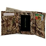 Realtree Leather Tri-Fold Wallet, Webers Mens All Purpose Camo Leather Wallet