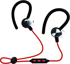 Bluetooth Headset - Enhanced 4.2 HD Stereo Bass Noise Cancelling Wireless Bluetooth Earbuds with Mic -